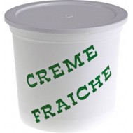 POT A CREME FRAICHE PP DECOR VACHE 12,5CL /250