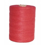 FICELLE LIN ROUGE 3,5/3 /ROLL 1KG